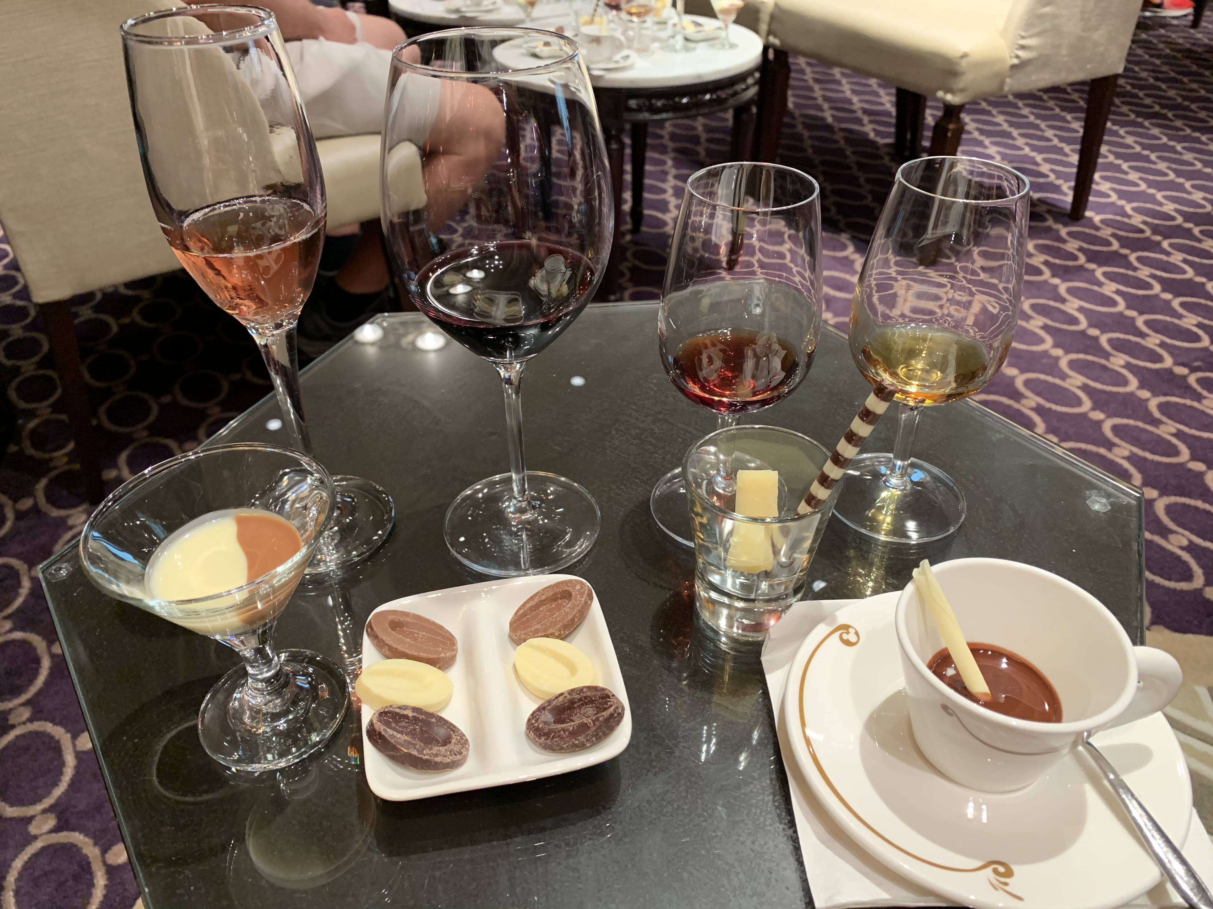 Wine and Chocolate Tasting on Disney Fantasy